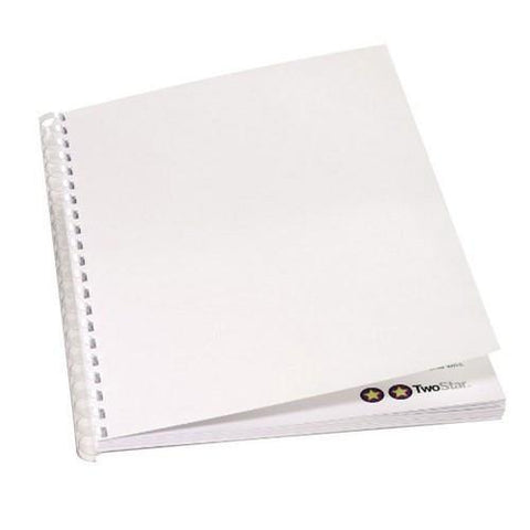 Gloss Card Binding Covers - Pack of 100
