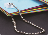 Nickel Ball Chain Cut Length Loops