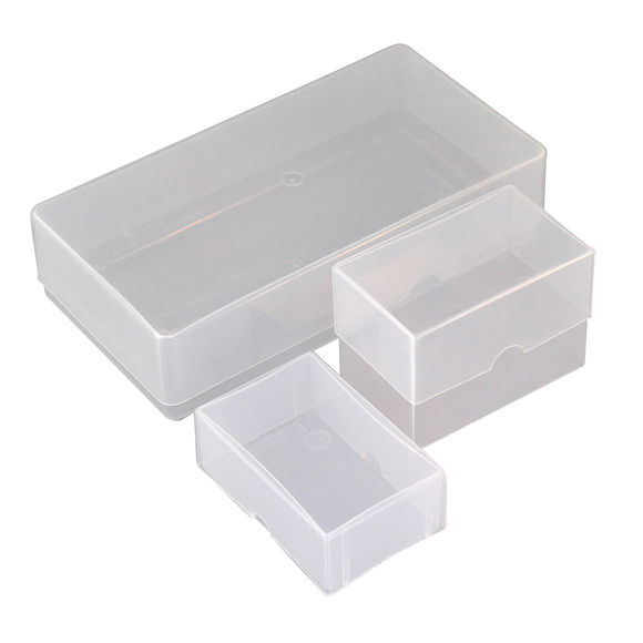 Business Card Boxes - Rigid Plastic