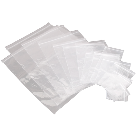 Grip Seal Bags - Packs of 1000
