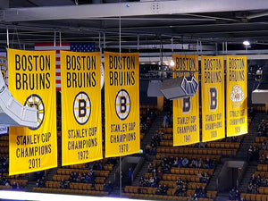 Bruins Banners at Eye Level