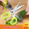 Multipurpose Herb Kitchen Scissors