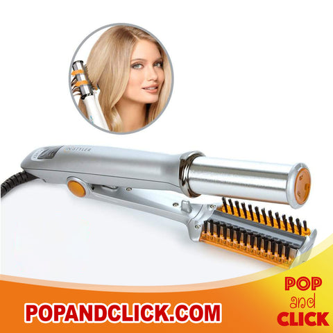 Revolutionary 2 in 1 Rotating Hair Iron