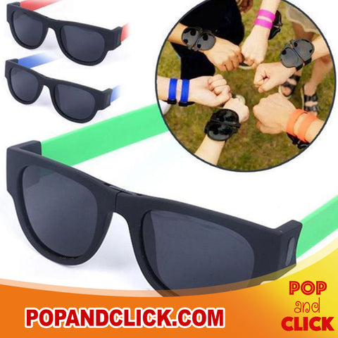 Wrap Foldable Sunglasses