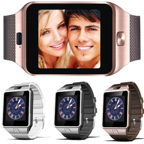 Smartech™ Smartwatch with Camera and Smartphone Features (Sim Card-Ready)