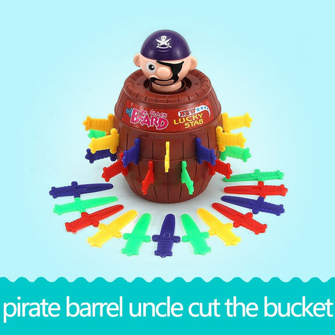 Black Beard Pirate Barrel Play Set