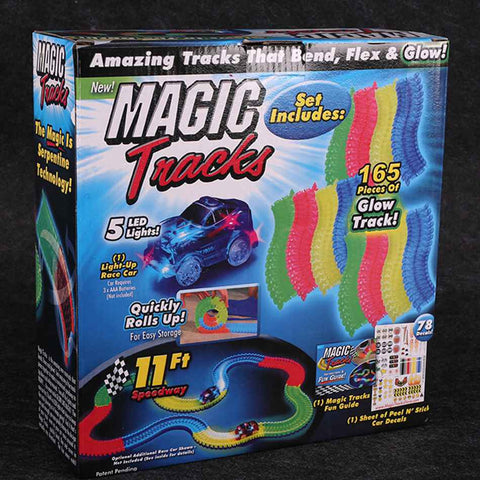 Magic Tracks - with LED Toy Car