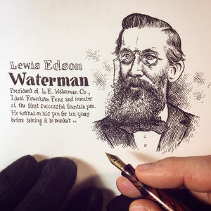 Lewis Waterman – Inventor of Fountain Pen