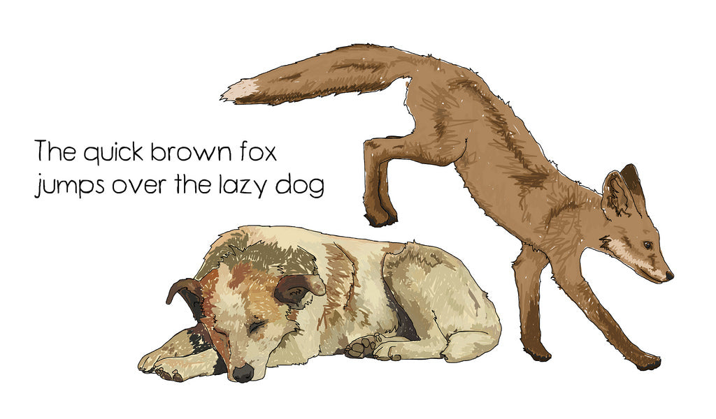 "Where did ""The quick brown fox jumps over the lazy dog"" come from?"