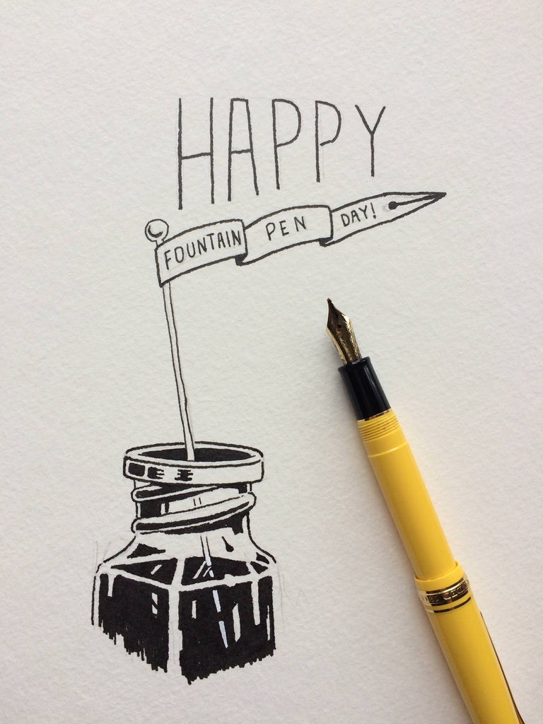 Happy Fountain Pen Day 2019
