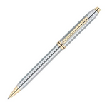 Cross Townsend Medalist Chrome Gold Trim 0.7mm Mechanical Pencil