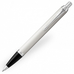 Parker IM Ballpoint Pen - White Chrome Trim - Refill Blue Medium (M)