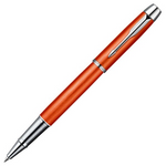 Parker IM Premium Big Red Chrome Trim Rollerball Pen