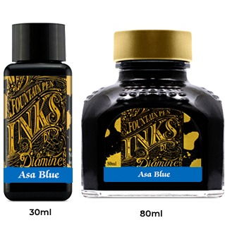 Diamine Ink Bottle (30ml / 80ml) - Asa Blue
