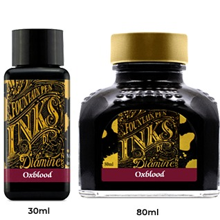 Diamine Ink Bottle (30ml / 80ml) - Oxblood