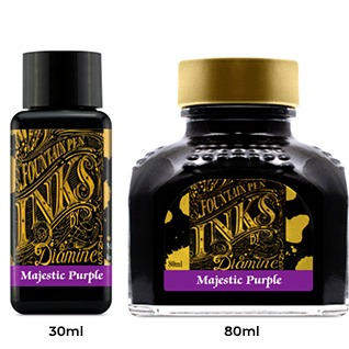 Diamine Ink Bottle (30ml / 80ml) - Majestic Purple