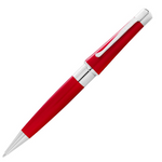 Cross Beverly Ballpoint Pen - Translucent Red Lacquer