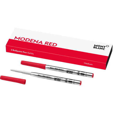Montblanc Refill Ballpoint Pen (Pack of 2) Modena Red - Medium (M)