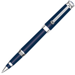 Montegrappa Parola Navy Blue Chrome Trim Rollerball Pen