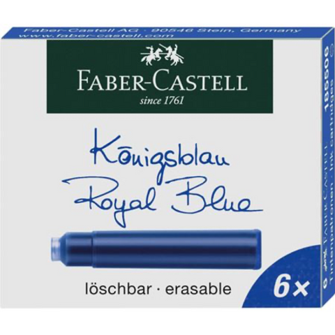 Faber-Castell Ink Cartridge - Royal Blue