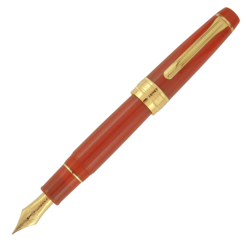 Sailor Pro Gear Slim Fire Gold Trim Fountain Pen (Limited Edition)
