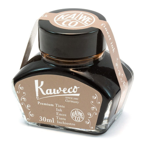 Kaweco Ink Bottle Caramel Brown 30ml. - KSGILLS.com | Online Penshop Malaysia
