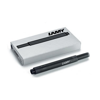 Lamy T10 Ink Cartridges Black ̐ Pack of 5 - KSGILLS.com | Online Penshop Malaysia