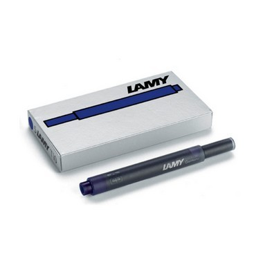 Lamy T10 Ink Cartridges Blue/Black ̐ Pack of 5 - KSGILLS.com | Online Penshop Malaysia