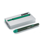 Lamy T10 Ink Cartridges Green  - Pack of 5 - KSGILLS.com | Online Penshop Malaysia