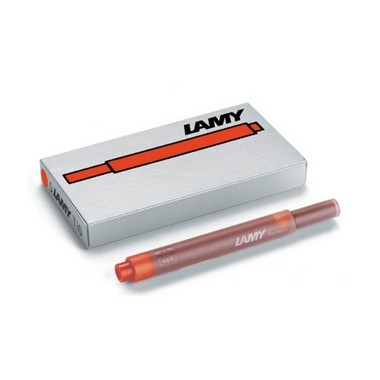 Lamy T10 Ink Cartridges Red  - Pack of 5 - KSGILLS.com | Online Penshop Malaysia