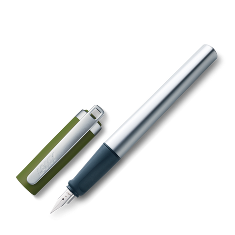 Lamy Nexx M Aluminium In Olive Cap 088 Fountain Pen (RM132.00)