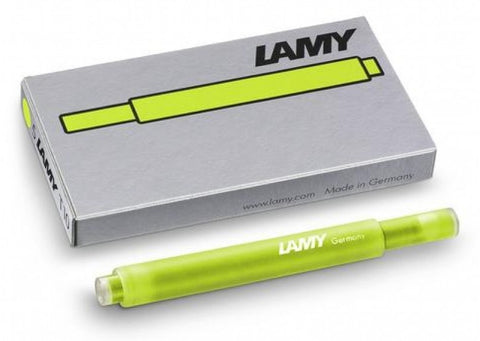 Lamy Ink Cartridge  T10 - Neon Lime