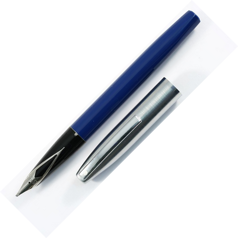 Sheaffer Triumph Chrome/Blue Fountain Pen