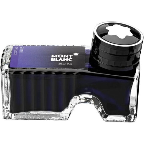 Montblanc Bottled Ink 60ml Royal Blue Ident. No : 105192 (Enquire) - KSGILLS.com | Online Penshop Malaysia