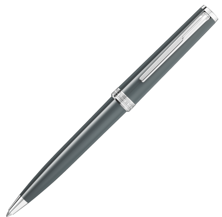 Montblanc Pix Ballpoint Pen - Grey Chrome Trim
