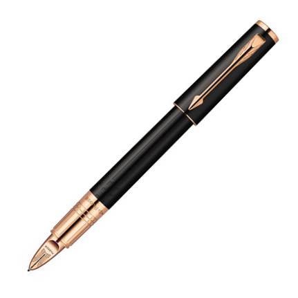 Parker Ingenuity Small Black Rubber PGT 5th Mode - KSGILLS.com | Online Penshop Malaysia