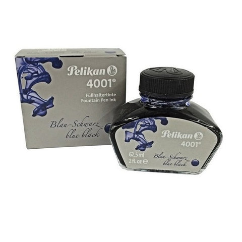 Pelikan 4001 Fountain Pen Ink Bottle 62.5ml - Blue Black