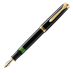 Pelikan Souveran M1000 Black Fountain Pen - M