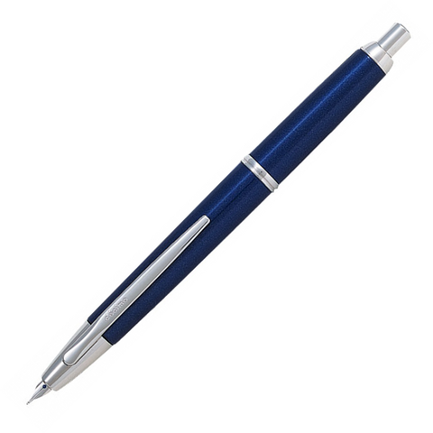Pilot Capless Decimo Fountain Pen Dark Blue - Medium Nib - KSGILLS.com | Online Penshop Malaysia