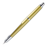 Pilot Capless Decimo Fountain Pen – Yellow Gold - Medium Nib - KSGILLS.com | Online Penshop Malaysia