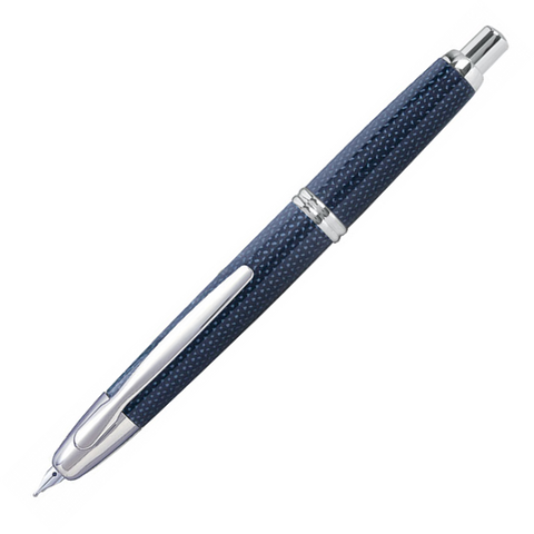 Pilot Capless Rhodium Trim Graphite Blue Fountain Pen – Medium Nib - KSGILLS.com | Online Penshop Malaysia