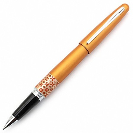 Pilot MR Metropolitan Retro Pop Orange Flower Rollerball Pen
