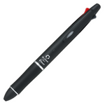 Pilot Dr. Grip - Black - Multifunction Pen 4+1 - 0.7mm (Fine)