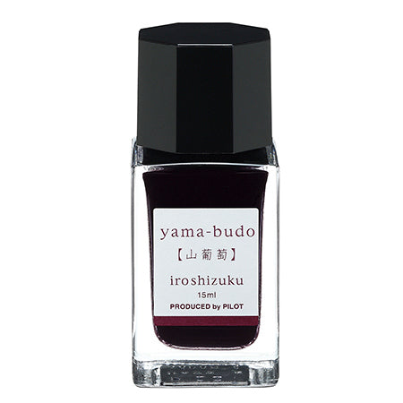 Pilot Iroshizuku Fountain Pen 15ml Bottle Ink - Yama-Budo