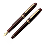 Platinum #3776 Century Bourgogne Gold Trim Fountain Pen