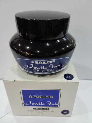Sailor Ink Bottle 50ml Round Jentle - Blue