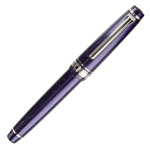 Sailor Pro Gear Slim Purple Cosmos Rhodium Trim Fountain Pen