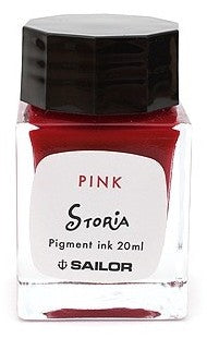 Sailor Storia Dancer Pink Ink - Pigment - 20 ml Bottle