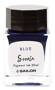 Sailor Storia Night Blue Ink - Pigment - 20 ml Bottle
