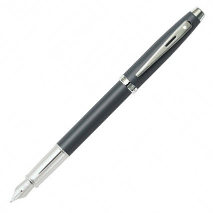 Sheaffer 100 Matte Grey NT Fountain Pen